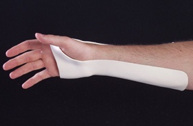 Ulnar Gutter Wrist Splintavailable From Kettering Surgical