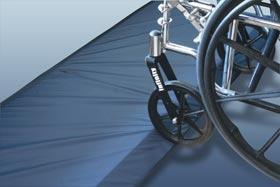 Economy Bi-Fold Beveled-edge Bedside Safety Mats