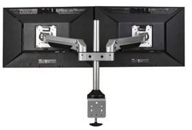 Larkspur Sit to Stand TRU-S200 Dual LCD Monitor Arm