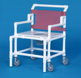 Bariatric shower commode chairavailable from kettering for Bariatric bathroom design
